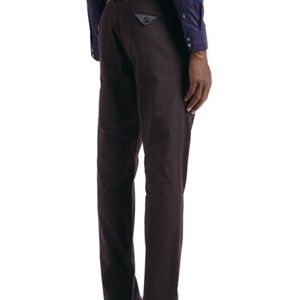 Ted Baker Purple Lommy Classic Fit Brushed Trouser